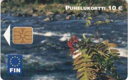 FINLAND - Landscape, Fin telecard 10 euro, tirage 25000, 09/04, used