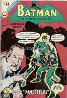 12672 MAGAZINE REVISTA MEXICANAS COMIC BATMAN EL HOMBRE MURCIELAGO & LINTERNA VERDE Nº 631 AÑO 1972 ED EN NOVARO - Livres, BD, Revues