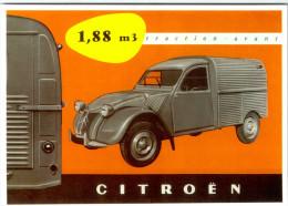 CITROEN 2CV  FOURGONNETTE / LOT  1308 - Voitures De Tourisme