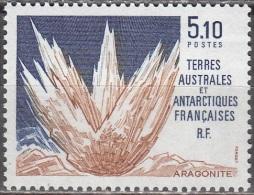 TAAF 1990 Yvert 153 Neuf ** Cote (2015) 2.60 Euro Aragonite - Neufs