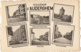 Souvenir D'Auderghem. Watermael-Boitsfort. Carte Multivues. - Auderghem - Oudergem