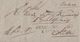 Brief Gelaufen Von Stargard L2 Am 2.1. Nach Stettin - Deutschland