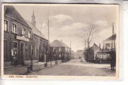 4290 BOCHOLT - SUDERWICK, Wirtshaus Zum Deutschen Eck, Strassenansicht, Kath. Kirche - Bocholt