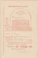 Posteinlieferungsschein Von Salzkotten Vom 10.1.1870 - Deutschland