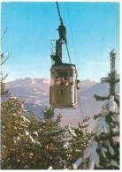 # CARTOLINA TRENTINO ALTO ADIGE – BOLZANO – FUNIVIA S. GENESIO VIAGGIATA 1969 VERSO VIU'  – INDIRIZZO OSCURATO PER PRIVA - Bolzano