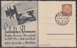 DR Privat-Ganzsache Minr.PP122 C81 /01 Köln Messe 1.4.41 - Deutschland