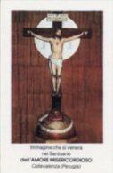 Collevalenza (Perugia) - Santino IMMAGINE VENERATA NEL SANTUARIO DELL'AMORE MISERICORDIOSO - PERFETTO L33 - Religione & Esoterismo