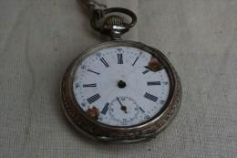 Montre De Gousset  Ancienne , à Réparer - Watches: Old