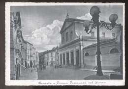 CASERTA - ANNI 40 - PIAZZA VESCOVADO COL DUOMO - Caserta