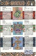 Malaysia (Uniphonekad) - Calendar 1994, 64MSAA, 1993, 250.000ex, Used - Malaysia
