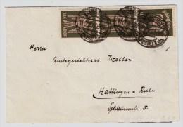 DR, 1923, Portogerechte MeF, Mi. 70.- ,   #2518 - Briefe U. Dokumente