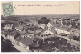 NOIRMOUTIER   -  Vue Générale Prise Du Château.. Pas Courante. - Noirmoutier