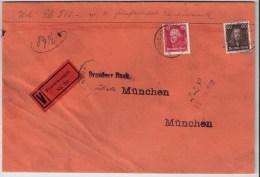 DR, 1928, Wert-Brief, Mi. 140.- ,   #2519 - Deutschland