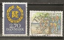 Danemark Denmark 1984 Scoutisme Scouting Etc Set Complete Obl - Gebruikt