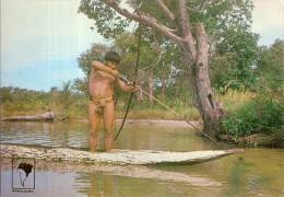 BRASIL-INDIEN-PECHE AU TIR A L'ARC-FISHING-TRIBU KAMAYURA-BRESIL - Tir à L'Arc