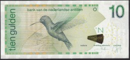 Netherlands Antilles 10 Gulden 2011 P28e UNC - Netherlands Antilles (...-1986)