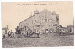 JARD. - Ruines De L'Abbaye De Lieu-Dieu. Belle Animation - Sonstige Gemeinden