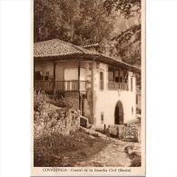 ASTRATP2831-LFTMD4885.Tarjeta Postal DE ASTURIAS.Montes,casas.CUARTEL DE LA GUARDIA CIVIL(Meson) En COVADONGA - Asturias (Oviedo)