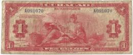 Curacau - 1942 - 1 Gulden - Fine - Banknotes