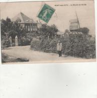 Cpa MONT-DES-CATS (59) Le Moulin Et L'école - 1915 - Autres Communes