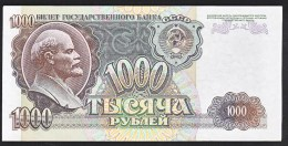 Russia 1000 Rublei 1992 P250 UNC - Rusia