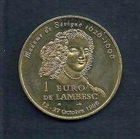 1 Euro Temporaire Precurseur De LAMBESC  1996, RRRR,, BR, Nr.361 - Euro Der Städte