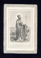Image Pieuse En Dentelle Canivet: Saint Nicolas (108591) - Devotieprenten