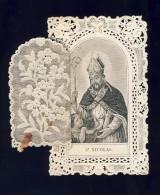 Image Pieuse En Dentelle Canivet: Saint Nicolas. Ed.Villemur (108592) - Devotieprenten