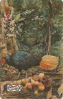 Malaysia (Uniphonekad) - Crestless Fireback Bird, 9MSAB, 1992, 1.295.000ex, Used - Malaysia