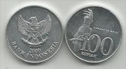 Indonesia 100 rupiah 2000.