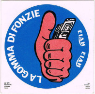 Vintage Adesivo Sticker Autocollant Label -LA GOMMA DI FONZIE ELAH-1979 - - Autocollants