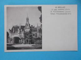 16 : FOUSSIGNAC : LE CHATEAU   C.P.A. Carte En Trés Bon état , - Châteaux