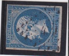 N° 14 A - PC  479  BOURGACHARD   (26 )  EURE - REF JC- INDICE 6 - 1853-1860 Napoléon III