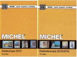 Süd/Südost-Europa Katalog 2015/2016 Neu 132€ MICHEL Band 3+4 Italy Fiume Jugoslavia Vatikan Kreta SRB BG GR RO TR Cyprus - Alte Papiere