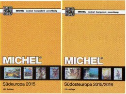 Süd/Südost-Europa Katalog 2015/2016 Neu 132€ MICHEL Band 3+4 Italy Fiume Jugoslavia Vatikan Kreta SRB BG GR RO TR Cyprus - Telefonkarten