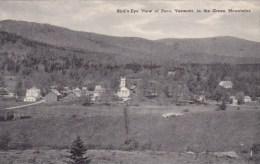 Vermont Peru Bird's Eye View Of Peru In The Green Mountains - United States