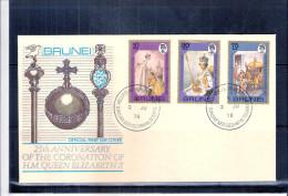 FDC Brunei 1978 - Complete Set - Brunei (1984-...)
