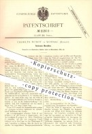 Original Patent - Charles Durot à Rothau , 1882 , Machine Tournante , Pompe !!! - Rothau