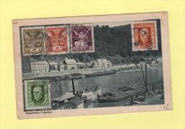 Varnsdop - Bensen - 1925 - Destination Belgique - Bodenbach Tetschen - Tschechoslowakei/CSSR