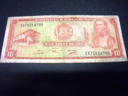 PEROU 10 Soles De Oro 17/11/1976, Pick N° KM 112, PERU - Peru