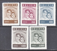 BOLIVIA  418-22    **   WRY - Bolivia