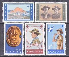 GREECE  759-63   *  BOY  SCOUTS - Greece