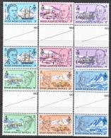 B.A.T.  76-81 X 2  GUTTERS    **  ANTARTIC  POLAR - British Antarctic Territory  (BAT)