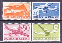 LIECHTENSTEIN  C 34-7   ** - Air Post