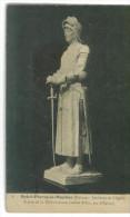 CP 58 Saint Pierre Le Moutier Intérieur De L'église Statue De Jeanne D'Arc Par Epinay - Histoire