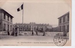 Châteaudun.. Animée.. Quartier Kellermann.. Militaires.. Militaria.. Caserne - Chateaudun