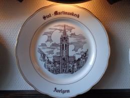 * Avelgem (Kortrijk - Courtrai) * 1 Uniek Bord Magvam Porselein Van AVELGEM Te IEPER - Céramiques