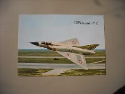 AVIONS MIRAGE III C AVION DE COMBAT MACH. 2. EN SERVICE DANS L'ARMEE FRANCAISE - 1946-....: Moderne