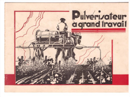 Dépliant 2 Volets Pulvérisateur J CAMPAGNE  (Lavernose Haute Garonne) (PPP1133) - Agriculture