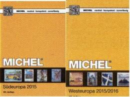 Süd/West-Europa Katalog 2015/2016 Neu 132€ MICHEL Band 3+6 Italy Fiume Jugoslavia Vatikan B NL UK GB Jersey Guernsey Man - Phonecards